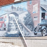 Mural on Short's General Store by Alan C. Hilgendorf
